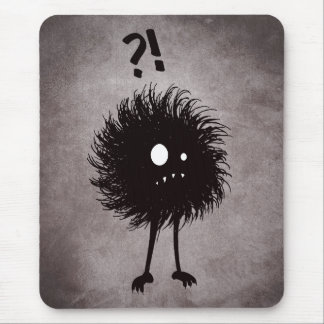 Gothic Wondering Evil Bug Character Mouse Pad