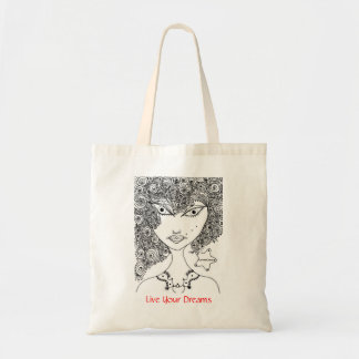 GothicChicz Budget Tote Canvas Bags