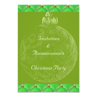 GothicChicz Christmas Party Invitation Card
