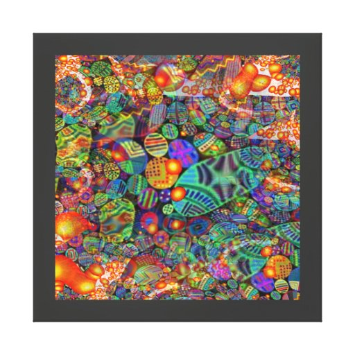 GothicChicz Wrapped Canvas Canvas Print