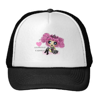 GOTHLOLI I heart goth lolita fashion PinkyP Trucker Hats