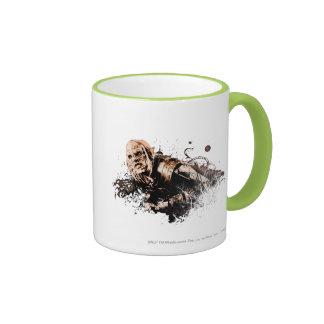 Gothmog Orc Vector Collage Ringer Mug