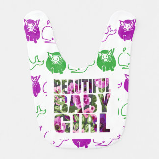 GoToLighthouse Baby Girl Bib