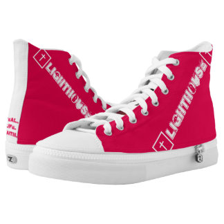 GoToLighthouse Church Name and Logo High Tops