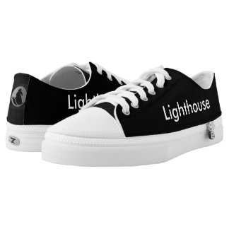 GoToLighthouse Church Name and Logo Low Tops