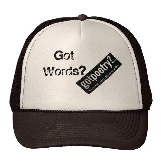 GotPoetry.com Trucker Snapback - Help Save GP! Cap