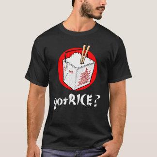 gotRice? Chinese ToGo Box for Darks T-Shirt