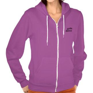 gotta dance minimal hoodie