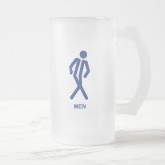 Gotta Go (Men) Frosted Glass Mug
