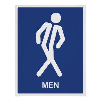 Gotta Go (Men) Poster