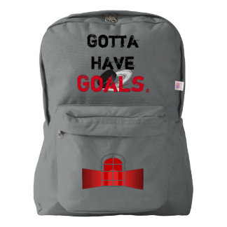 Gotta Have Goals-Hockey  Backpack ~ Back to School
