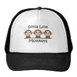 Gotta Love Monkeys Cap