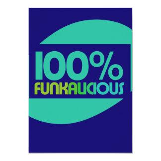 Gotta love the funk 5x7 paper invitation card