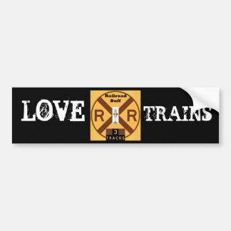 Gotta Love Trains Bumper Sticker
