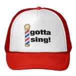 Gotta Sing Barbershop Gift Cap