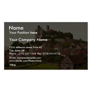 Gottingen Hanstein Ruin, Hanover (i.e. Hannover), Business Card
