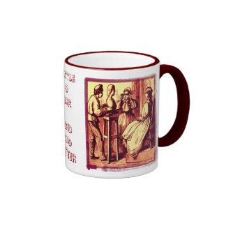 Gottle O Geer, Gred And Gutter... Ringer Mug