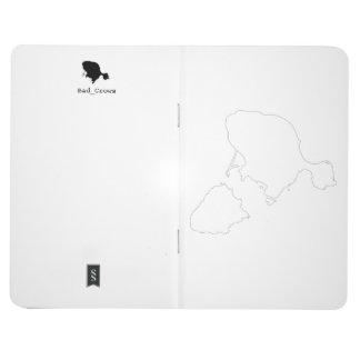 Gotts Island Outline Notebook Journals