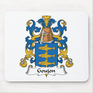 Goujon Family Crest Mouse Pad