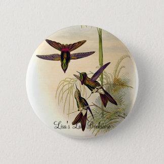 Gould - Columbian Thornbill Hummingbird Promo Butt 6 Cm Round Badge