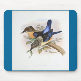 Gould - Mantled Kingfisher Mouse Mats