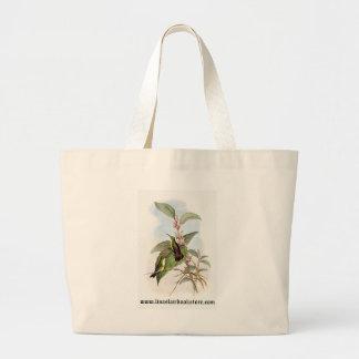 Gould - Snowy-Throated Emerald Hummingbird Canvas Bags