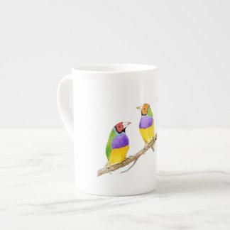 Gouldian Finch Bird Tea Cup