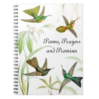 Goulds' Hummingbirds Notebook