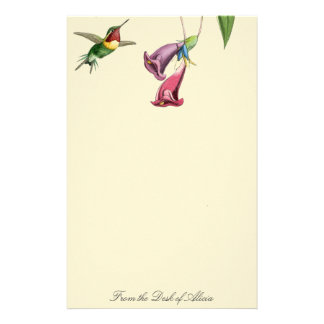 Goulds' Hummingbirds Stationery