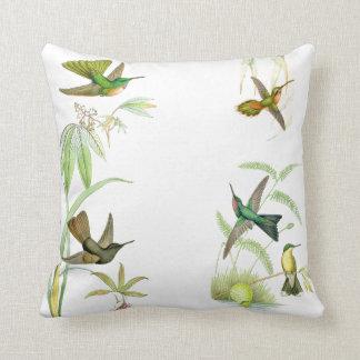 Goulds' Hummingbirds Throw Pillow