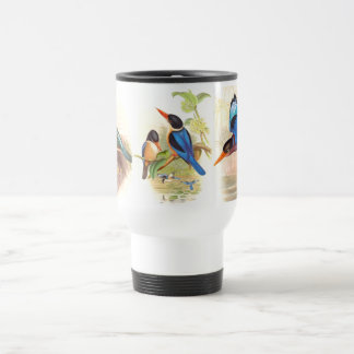 Goulds Kingfisher Birds Travel Mug