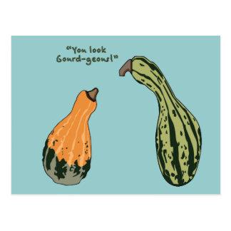 Gourd-geous Postcard
