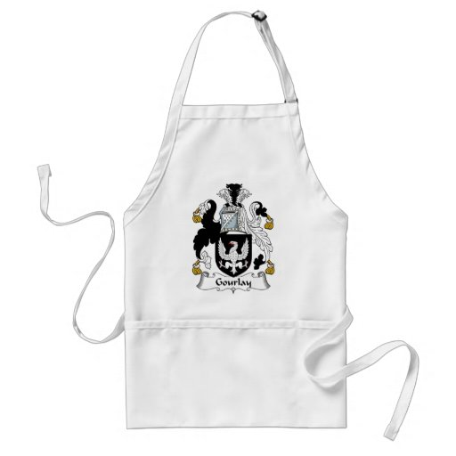 Gourlay Family Crest Aprons