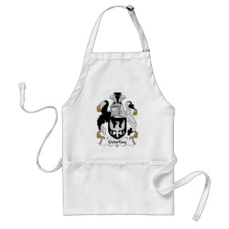 Gourlay Family Crest Standard Apron