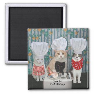Gourmet Chef Cats/Kitties Magnet