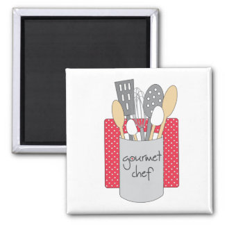 Gourmet Chef Kitchen Magnet