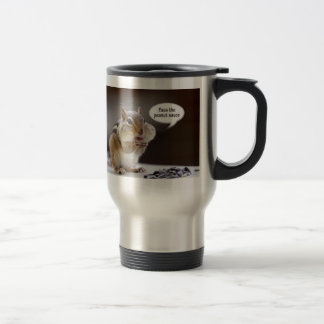 Gourmet Chef or Cook Chipmunk Photo Stainless Steel Travel Mug