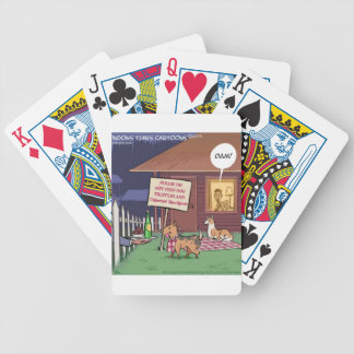 Gourmet Dogs Funny Bicycle Card Deck
