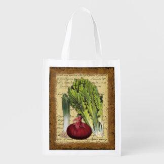 Gourmet Garden II, celery, grocery bag