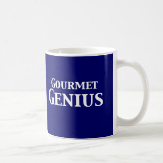 Gourmet Genius Gifts Basic White Mug