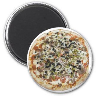 Gourmet Supreme Pizza Magnet