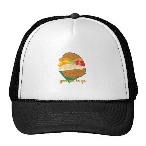 Gourmet To Go Mesh Hats