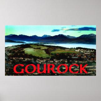 gourock scotland poster
