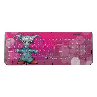 GOUZOUILLE ALIEN CUTE Custom Wireless Keyboard