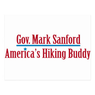 Gov. Mark Sanford Postcard