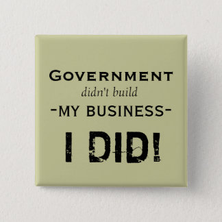 Government... 15 Cm Square Badge