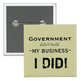 Government... 15 Cm Square Badge