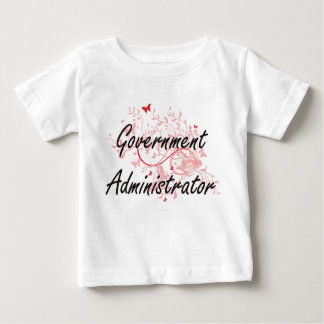 Government Administrator Artistic Job Design with Baby T-Shirt