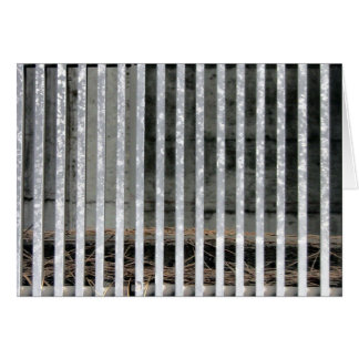 Government Complex Architecture Detail Metal Bars Card