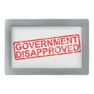 government disapproved belt buckles